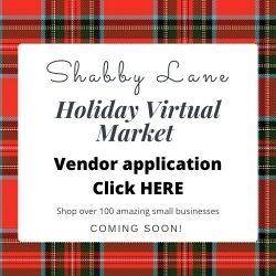 Sign up for Shabby Lane Shops newsletter